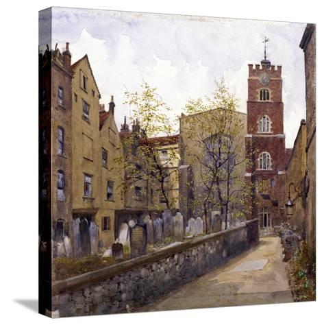St Bartholomew's Priory, London, 1880-John Crowther-Stretched Canvas Print