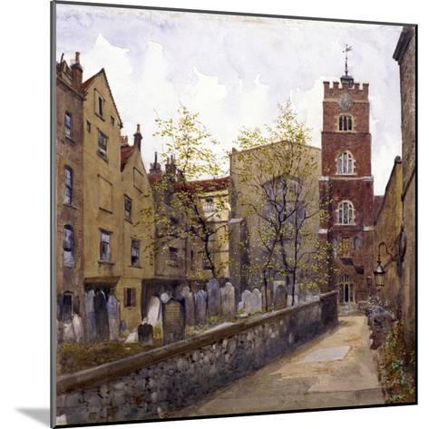 St Bartholomew's Priory, London, 1880-John Crowther-Mounted Giclee Print