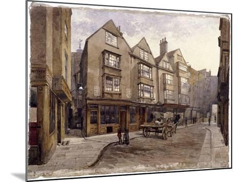 Cloth Fair, London, 1884-John Crowther-Mounted Giclee Print
