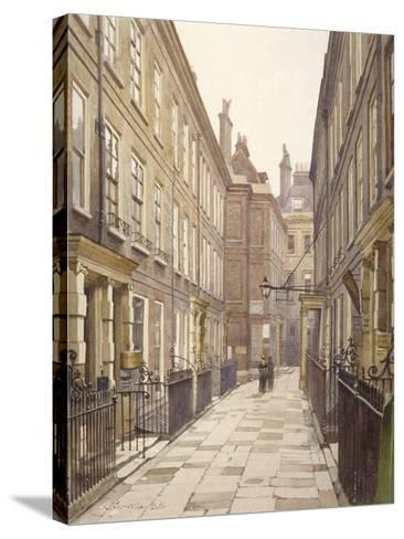 View of Catherine Court, Tower Hill, London, Looking East, 1886-John Crowther-Stretched Canvas Print