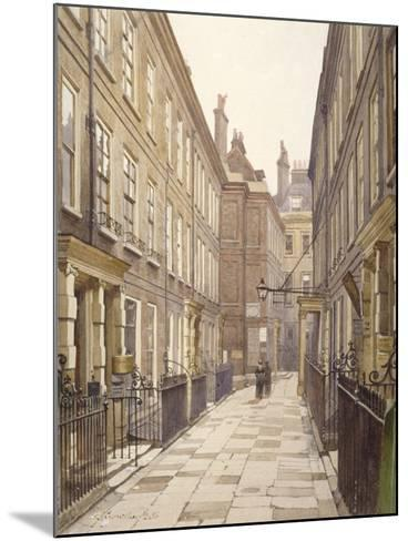 View of Catherine Court, Tower Hill, London, Looking East, 1886-John Crowther-Mounted Giclee Print