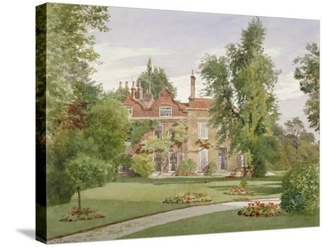 Side View of Raleigh House, Brixton Hill, Lambeth, London, 1887-John Crowther-Stretched Canvas Print