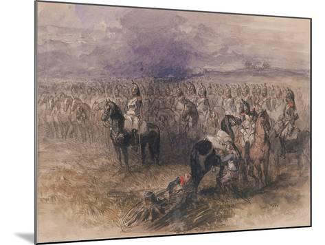 French Cavalry, 1851-John Gilbert-Mounted Giclee Print