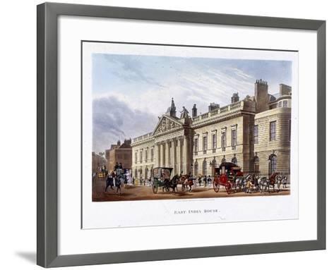 East India House, London, 1836-Joseph Constantine Stadler-Framed Art Print