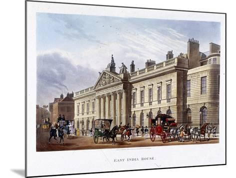 East India House, London, 1836-Joseph Constantine Stadler-Mounted Giclee Print