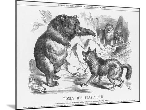 Only His Play, 1885-Joseph Swain-Mounted Giclee Print