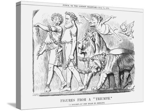 Figures from a Triumph, 1878-Joseph Swain-Stretched Canvas Print