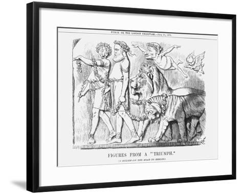 Figures from a Triumph, 1878-Joseph Swain-Framed Art Print
