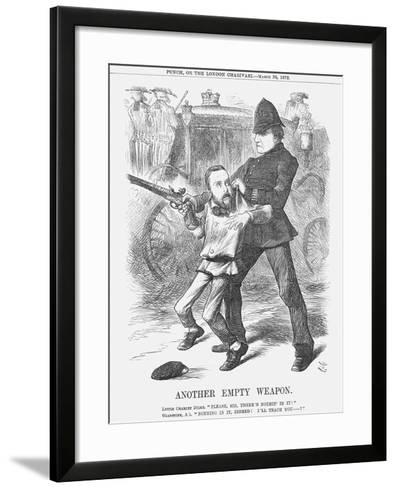 Another Empty Weapon, 1872-Joseph Swain-Framed Art Print