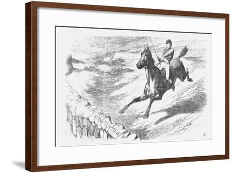 Will He Clear It?, 1873-Joseph Swain-Framed Art Print