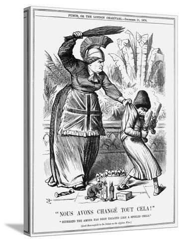 Nous Avons Changé Tout Cela!, 1878-Joseph Swain-Stretched Canvas Print