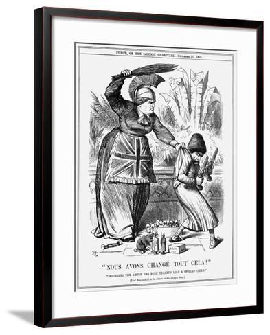 Nous Avons Changé Tout Cela!, 1878-Joseph Swain-Framed Art Print