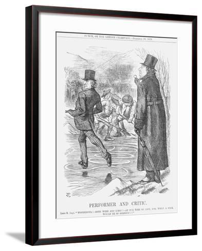 Performer and Critic, 1879-Joseph Swain-Framed Art Print