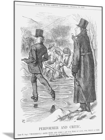 Performer and Critic, 1879-Joseph Swain-Mounted Giclee Print
