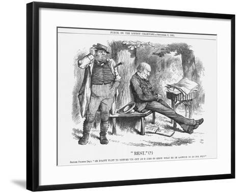Rest , 1881-Joseph Swain-Framed Art Print