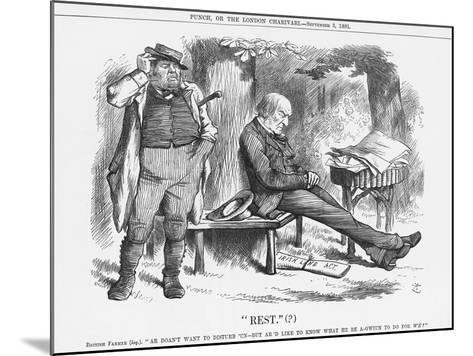 Rest , 1881-Joseph Swain-Mounted Giclee Print