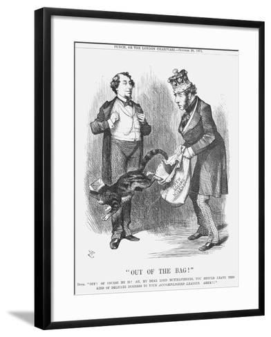 Out of the Bag!, 1871-Joseph Swain-Framed Art Print