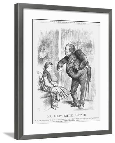 Mr Bull's Little Partner, 1878-Joseph Swain-Framed Art Print