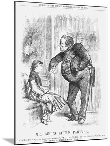 Mr Bull's Little Partner, 1878-Joseph Swain-Mounted Giclee Print
