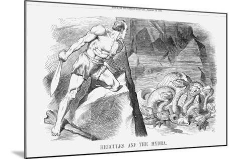 Hercules and the Hydra, 1870-Joseph Swain-Mounted Giclee Print