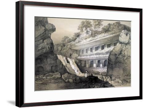 Kannari (Si), View of Durbar Cave-John Weale-Framed Art Print