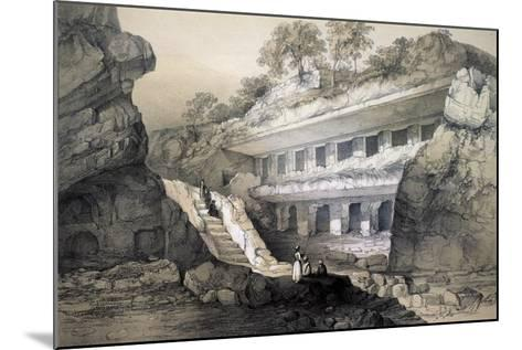 Kannari (Si), View of Durbar Cave-John Weale-Mounted Giclee Print