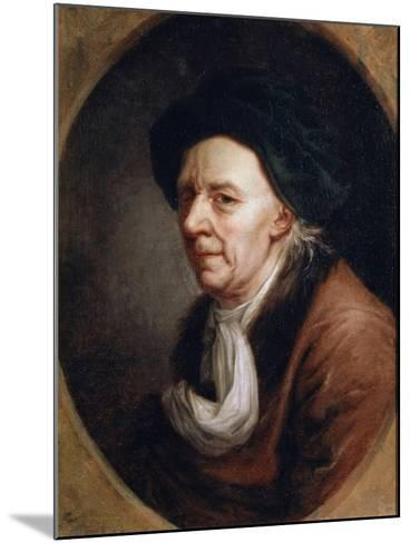 Portrait of the Mathematican Leonhard Euler, (1707-178), German Painting of 18th Century-Joseph Friedrich August Darbes-Mounted Giclee Print
