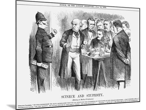 Scinece and Stupidity, 1876-Joseph Swain-Mounted Giclee Print