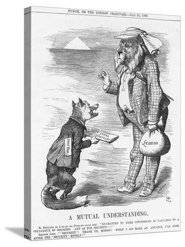 A Mutual Understanding, 1883-Joseph Swain-Stretched Canvas Print