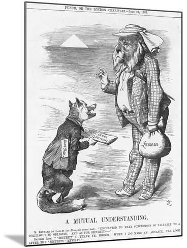 A Mutual Understanding, 1883-Joseph Swain-Mounted Giclee Print