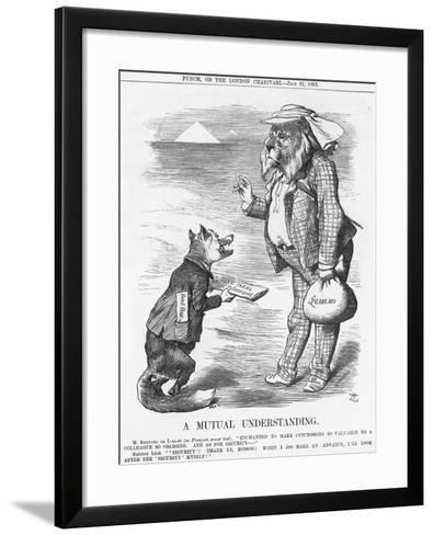 A Mutual Understanding, 1883-Joseph Swain-Framed Art Print