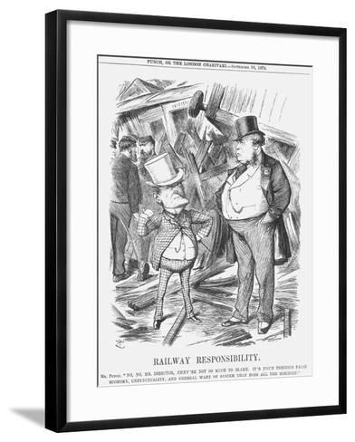 Railway Responsability, 1874-Joseph Swain-Framed Art Print