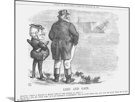 Loss and Gain, 1875-Joseph Swain-Mounted Giclee Print