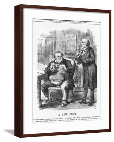 A New Piece, 1882-Joseph Swain-Framed Art Print