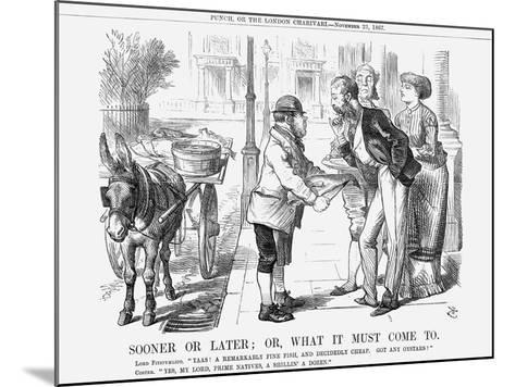 Sooner or Later; Or, What it Must Come To, 1867-John Tenniel-Mounted Giclee Print