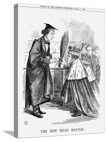 The New Head Master, 1868-John Tenniel-Stretched Canvas Print