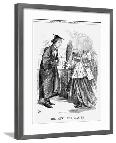 The New Head Master, 1868-John Tenniel-Framed Art Print