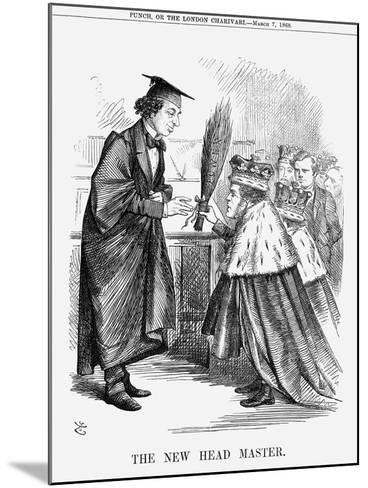 The New Head Master, 1868-John Tenniel-Mounted Giclee Print