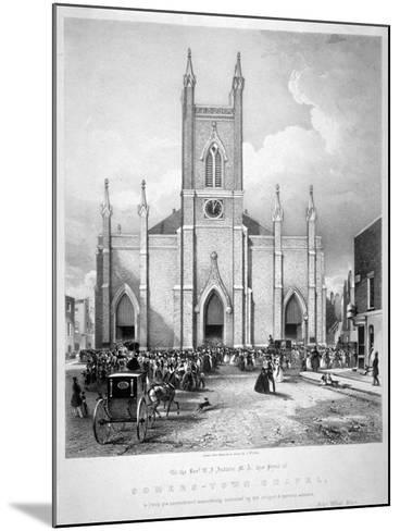 St Mary's Chapel, Eversholt Street, St Pancras, London, C1835-John West Giles-Mounted Giclee Print