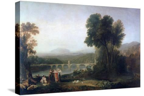Apullia in Search of Appullus, C1814-J^ M^ W^ Turner-Stretched Canvas Print