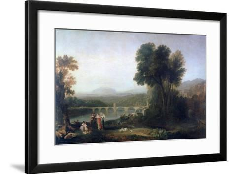 Apullia in Search of Appullus, C1814-J^ M^ W^ Turner-Framed Art Print