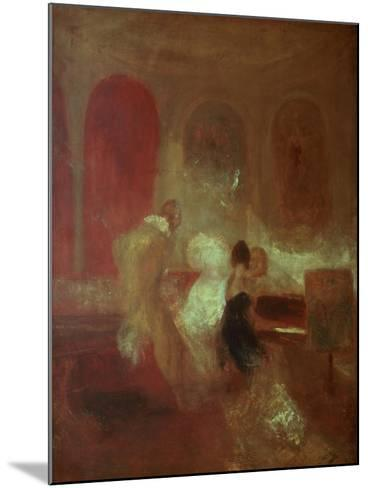 Music Party, East Cowes Castle, Isle of Wight, 1835-J^ M^ W^ Turner-Mounted Giclee Print