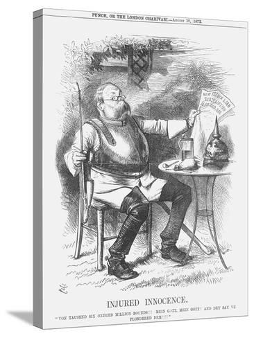 Injured Innocence, 1872-Joseph Swain-Stretched Canvas Print