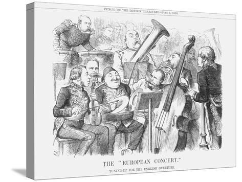 The European Concert, 1880-Joseph Swain-Stretched Canvas Print