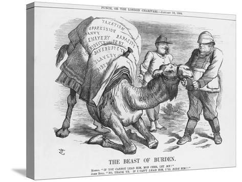 The Beast of Burden, 1884-Joseph Swain-Stretched Canvas Print