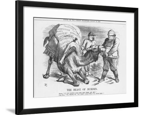 The Beast of Burden, 1884-Joseph Swain-Framed Art Print