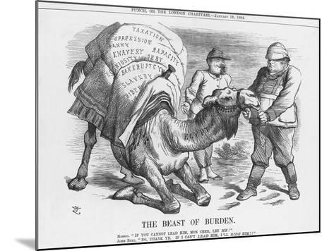 The Beast of Burden, 1884-Joseph Swain-Mounted Giclee Print