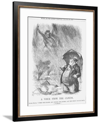A Voice from the Clouds, 1875-Joseph Swain-Framed Art Print