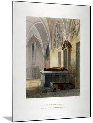Tomb of Lancelot Andrews in the Lady Chapel, St Saviour's Church, Southwark, London, 1851-John Wykeham Archer-Mounted Giclee Print