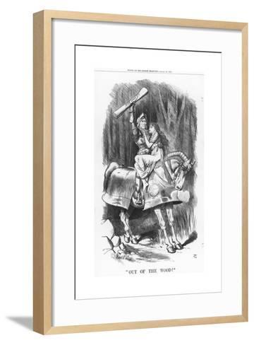 Out of the Wood!, 1881-Joseph Swain-Framed Art Print